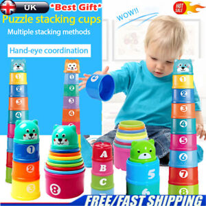 Baby Educational Toys - My 1st Stacking Cups - Age 12 ...