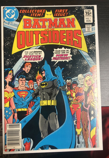 Batman And The Outsiders (1983)  # 1 Canadian price Variant (NM)