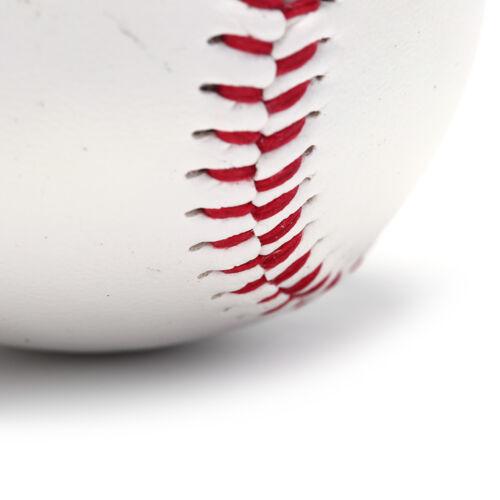 """9/"""" baseballs pvc upper rubber inner soft hard balls softball training exercisBCL"""