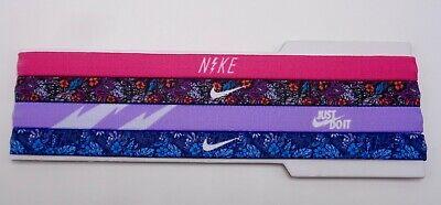 Nike Girl/'s Printed Twist Logo Elastic Headband Youth