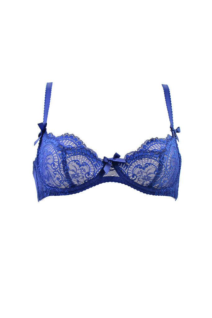L& 039;agent por Agent Provocateur para Mujer de encaje nuevo  Floral Sujetador Azul Rrp  BCF86  clásico atemporal