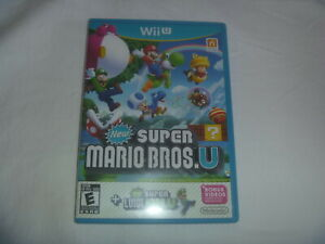 New-Super-Mario-Bros-U-Luigi-2013-Nintendo-Wii-U-Wiiu-Game-Good-Condition