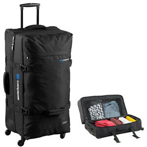 15c6c0ba44 CARIBEE GOLIATH 120 LITRE Travel Trolley Bag Luggage Wheeled Wheely ...