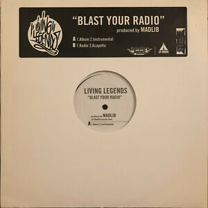 LIVING-LEGENDS-BLAST-YOUR-RADIO-12-034-2004-RARE-GROUCH-MURS-MADLIB