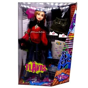 2003-Mattel-Muneca-Flavas-P-Bo-Caja-Usada-Con-Accesorios