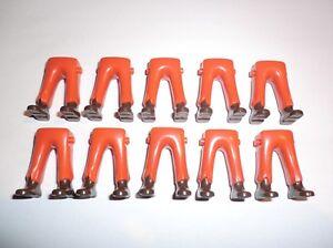 Playmobil 10 Garde Piraten ACW Garde Ritter Beine orange schwarze Schuhe