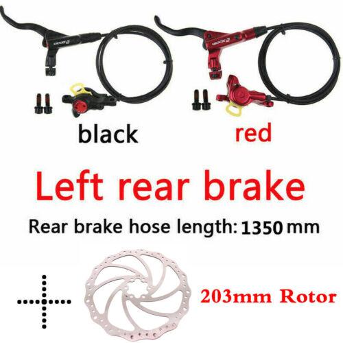MTB Bike Hydraulic Disc Brake 140//160//180//203mm 6 Bolts Rotor Fit SHIMANO//SRAM