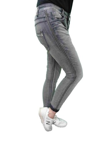 pour Lexxury Boyfriend Jewelly stretch Pantalon femmes By Baggy 5aU4ppxW