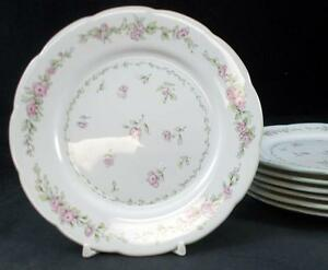 Lenox-China-PINAFORE-7-Bread-amp-Butter-Plates-no-signs-of-use-GREAT-CONDITION
