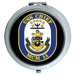 Uss Häuptling (MCM-14) Kompakter Spiegel
