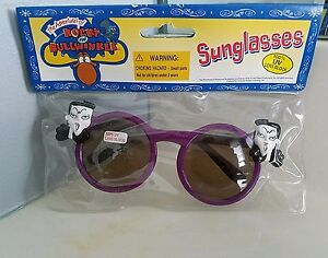 Rocky and Bullwinkle & Friends NATASHA Sunglasses 1997 VINTAGE Purple Retro