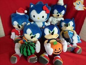Rare Sonic The Hedgehog Plush Joypolis Sega Limited Staffed Japan Ebay