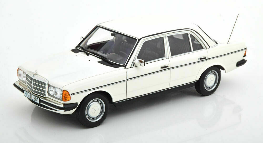 NOREV 1:18 Scale Mercedes-Benz 200 W123 1982 Metal Gray Diecast Car Model NEW