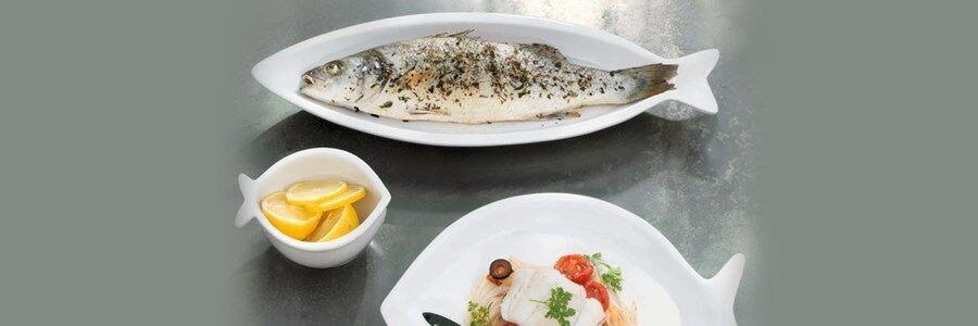 Asa Selection - 6 plat poisson Grande Originale cm 42x15,5 - Revendeur