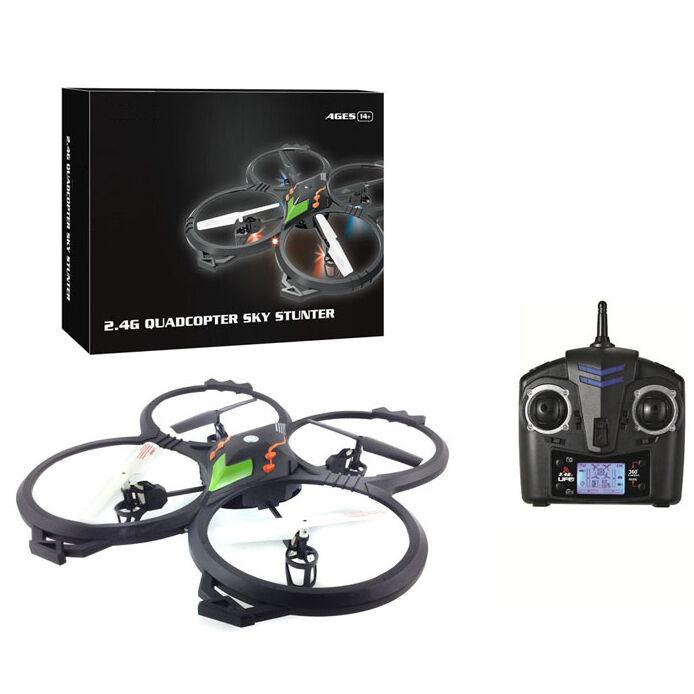 6 assi facile da FLY Quad  Elicottero drone 4 LAME ACROBAZIE Azione RC a distanza  è scontato