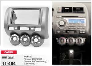 Adroit Carav 11-464 2din Marco Adaptador Kit Instalacion Radio Honda Fit Jazz 2002-2008 Ventes De L'Assurance Qualité