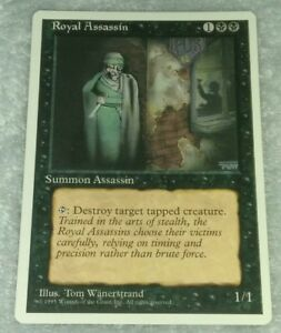 Magic-the-Gathering-MTG-Royal-Assassin-x1-4th-Edition-LP