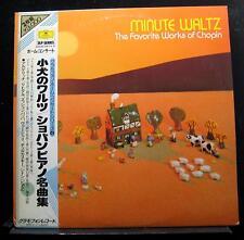 Martha Argerich Richter Vasary - Minute Waltz Chopin 2 LP Mint- Japan 30MG 0275