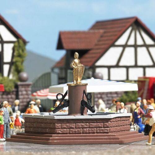 Busch 7728-1//87 H0 Mini-Welt Marktbrunnen Neu