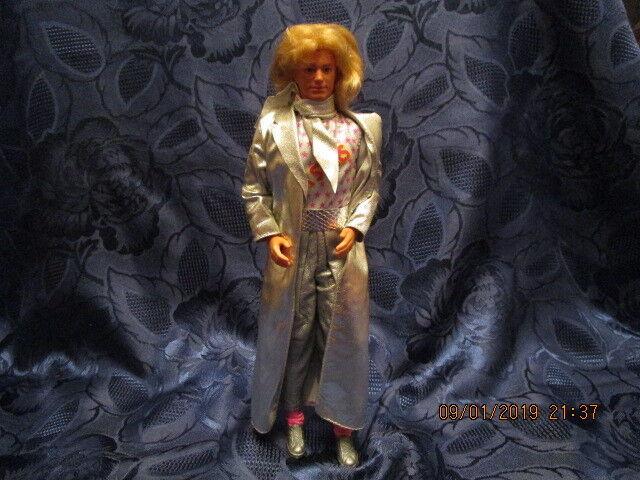 Barbie Puppe Thomas Gottschalk  mit Halstuch Mattel Taiwan v. 1968 Kopf 1981