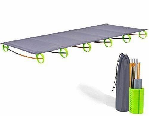 Outdoor Ultralight& Portable  Folding Aluminium alloy Cot Camping Tent Bed-030 US  export outlet