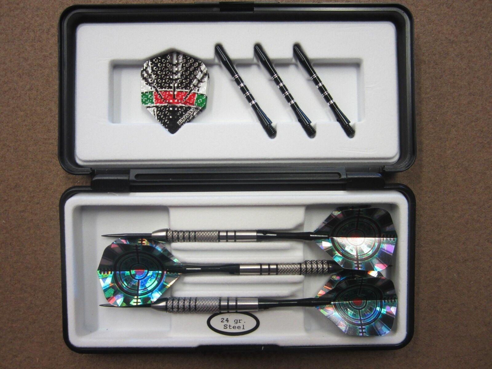 Sharp Shooter 24g Steel Tip Darts 80% Tungsten 18024 w/ FREE Shipping