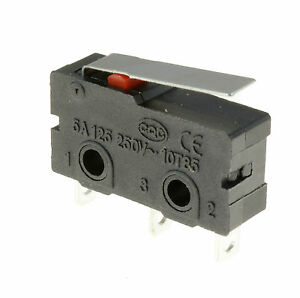 5-x-Short-Lever-Actuator-Microswitch-SPDT-5A-Micro-Switch