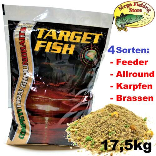 Allround Angelfutter Feeder Karpfen Futter 17,5kg Mosella Target Grundfutter