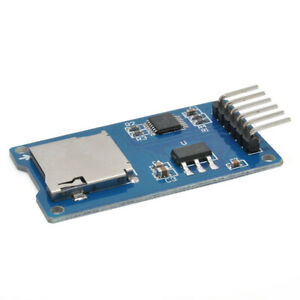 Carte-de-Stockage-Micro-Sd-Carte-Micro-Sd-Tf-Module-D-039-Extension-de-Bouclier-I9G7