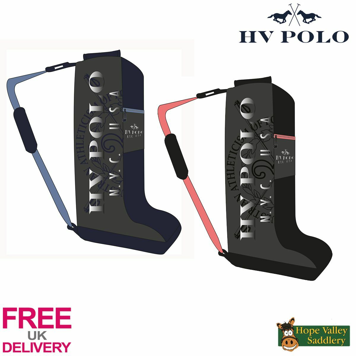HV Polo Addison Stiefel Tasche FREE UK Shipping