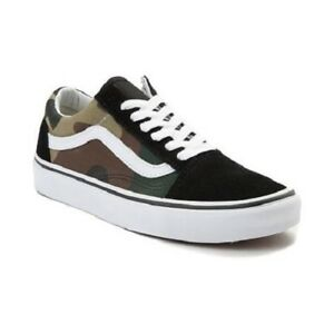 VANS CLASSIC OLD SKOOL WOOD LAND LOW CAMOUFLAGE MEN SHOES *N0A38G1NRA SZ 13 NEW | eBay