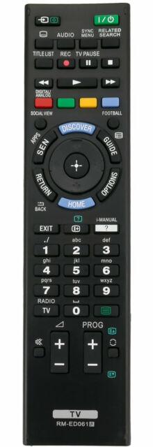 RM-ED061 telecomando per Sony KDL-42W828B KDL-42W706B kdl-32w706b kdl-42w705b