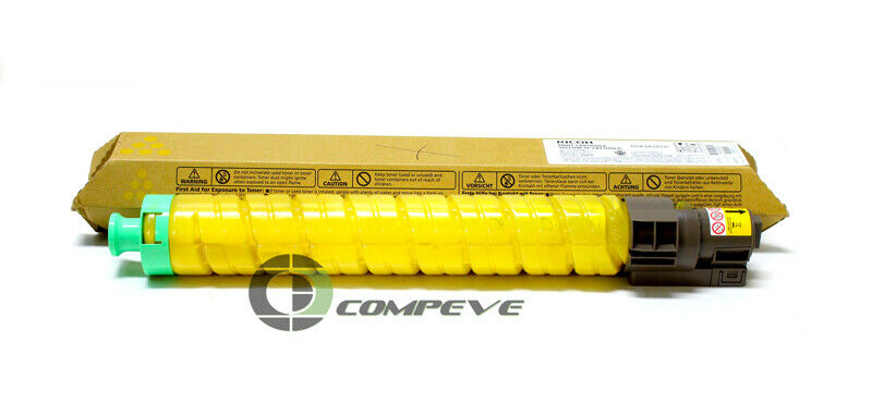 On-Site Laser Compatible Toner Replacement for Ricoh 820008 Works with Yellow Aficio SP C811DN
