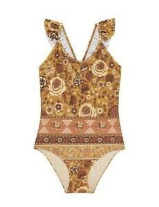 Spell /& The Gypsy Collective Zahara One Piece Swimsuit Lilac 8 9Y Little Gypsies