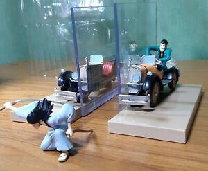 Lupin-the-3rd-ichiban-kuji-limited-mini-bookend-figure-car-goemon-anime-used