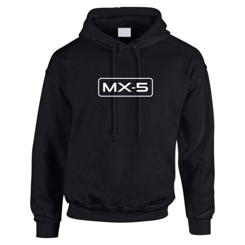 MAZDA MX5 MX-5 Felpa con Cappuccio in Pile con Cappuccio