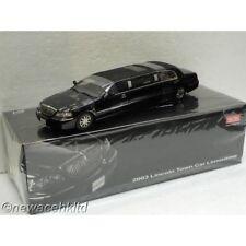 Sun Star Black 2003 Lincoln Town Car Limousine Diecast Scale 1 18 Ebay