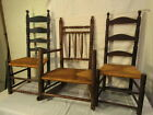 3 EARLY AMERICAN CHAIRS Lot 307