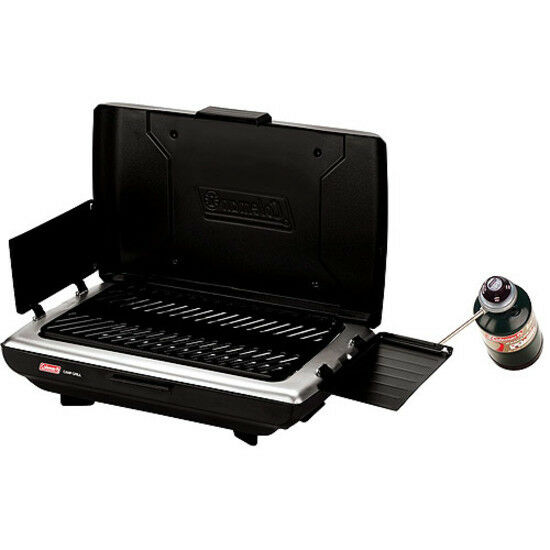Coleman Campers 10,000 BTU Propane Grill Stove Portable Gas Burner Barbecue New