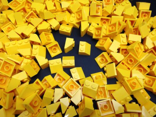LEGO 5 25 Or 50 Pieces 3039 YELLOW Roof Tile