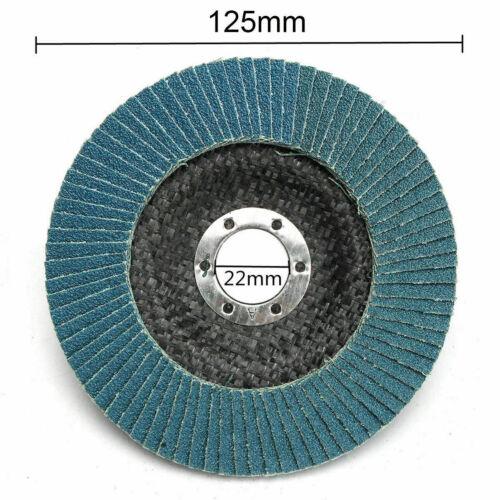 "4/"" 4.5/"" 5/""  Metal Flap Sanding Disc Wheel Fr Wood Polishing Abrasive Rotary Tool"