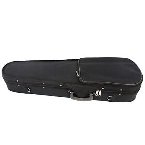 the clearance sale black triangle cheap violin case us free shipping size 4 4 ebay. Black Bedroom Furniture Sets. Home Design Ideas