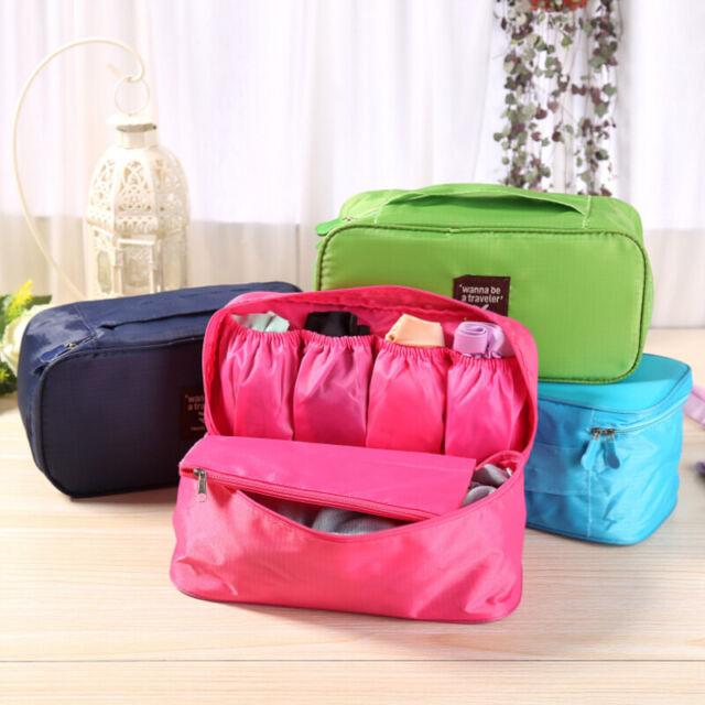 Waterproof Bag Socks Underwear Bra Organizer Bag Pouch Travel Trip Portable NEW
