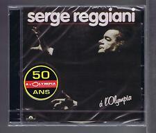 CD NEUF SERGE REGGIANI OLYMPIA 1983