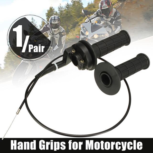 Twist Throttle Handlebar Housing Hand Grip Cable 110cc 125cc ATV Quad Dirt Bike