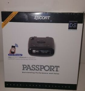 Passport Radar Detector >> Details About Escort Passport Radar Detector With Built In Bluetooth For Escort Live