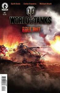 World of tanks roll out comic book