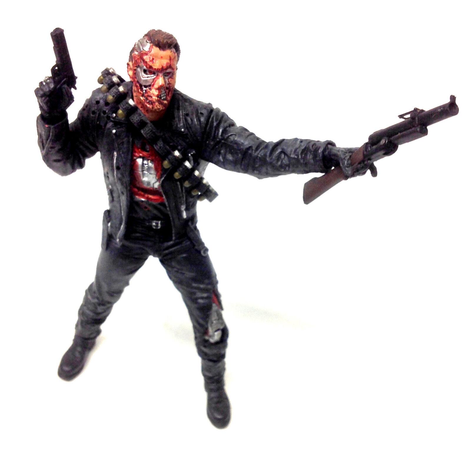 McFarlane Movie Maniacs T2 TERMINATOR T-800 6  movie film toy figure