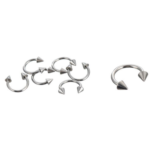 66x Nice Stainless Steel Tongue Nipple Bar Ring Barbell Body Piercing Jewelry DS
