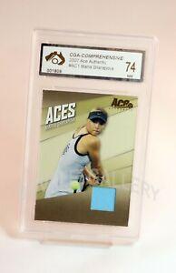 2007-Ace-Maria-Sharapova-Patch-Card-Graded-Near-Mint